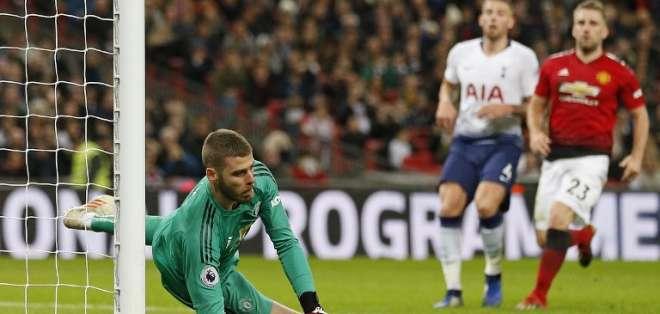 El ecuatoriano Antonio Valencia no estuvo en el triunfo 1-0 sobre Tottenham. Foto: Ian KINGTON / IKIMAGES / AFP
