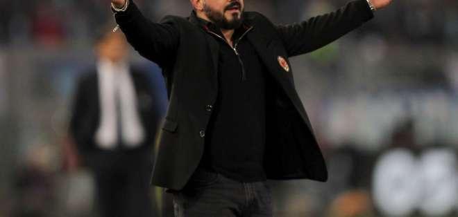 Gattuso, entrenador del Milan