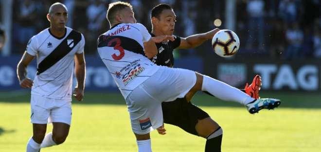 Danubio hizo de local en el empate contra Atlético Mineiro