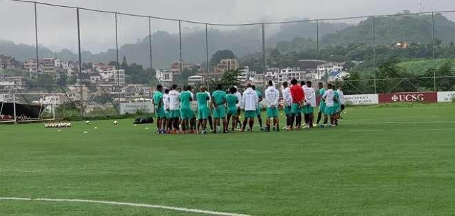 BSC en una práctica en mitad de semana. Foto: Twitter BSC