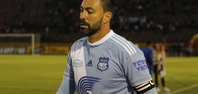 El portero de Emelec defendió al equipo tras el mal arranque en la Liga Pro 2019. Foto: API/Archivo