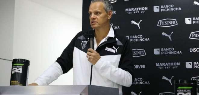 El dirigente de Liga de Quito habló previo al duelo con Peñarol por Copa Libertadores. Foto: Archivo