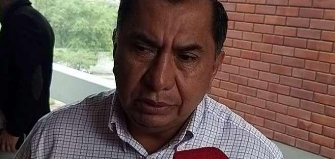 Favián Aguilar, presidente de Fuerza Amarilla