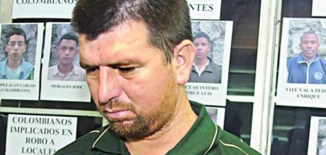 Julio David Mendoza López, alias 'loco Julio' quien se fugó el pasado 11 de febrero junto a otros 17 reos. Foto: El Expreso.