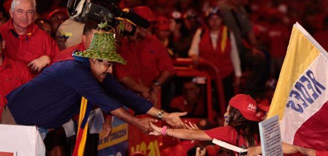 Las denuncias marcan un final de campaña crispado en Venezuela. Foto: EFE