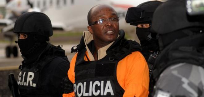 Arribó al país César Vernaza, uno de los 18 reos fugados de La Roca. Foto: API