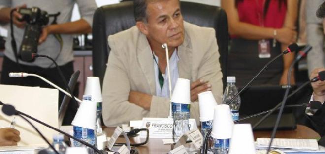 Paco Velasco asumirá el despacho del Ministerio de Cultura. Foto: API