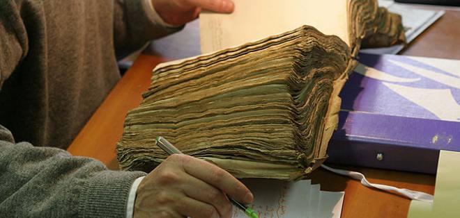 Múltiples notarías a nivel nacional estuvieron abarrotadas por los funcionarios. Foto: Archivo