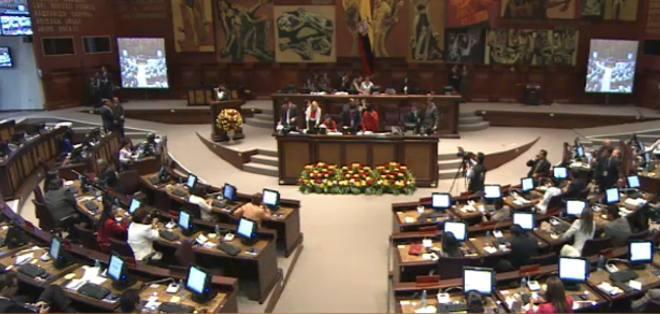 Sesión de posesión de autoridades de la Asamblea Nacional.