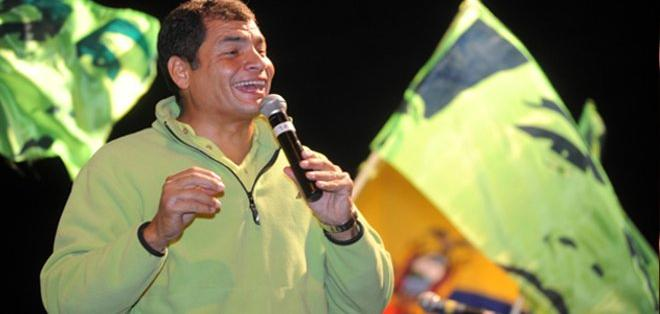 Rafael Vicente Correa Delgado nació en Guayaquil en abril de 1963.