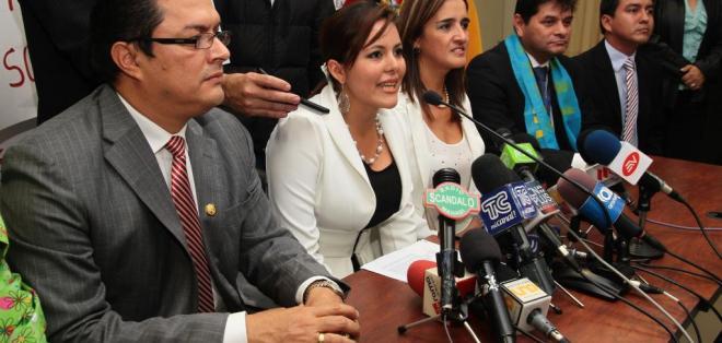 La Asamblea Nacional decidió esta tarde que La Concordia sea el nuevo cantón de Santo Domingo. Foto: API