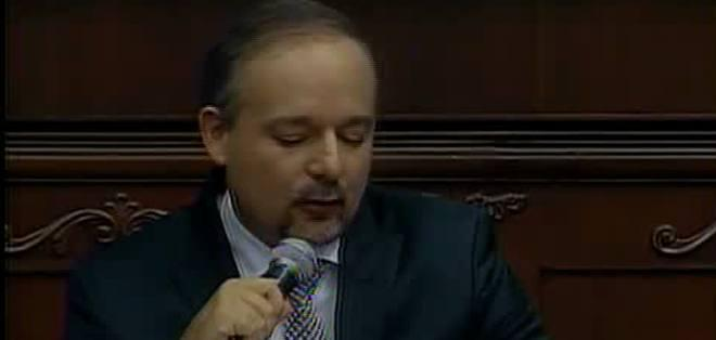 Richard Espinosa, ministro coordinador de la Producción.