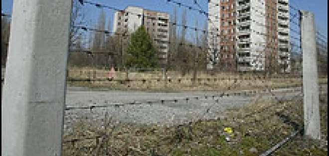 La ciudad donde vivía los trabajadores de Chernobyl, Pripyat, quedó totalmente abandonada.