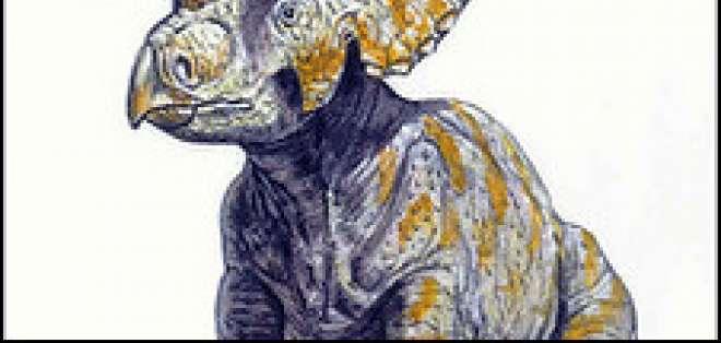 El dinosaurio que tenía quince cuernos