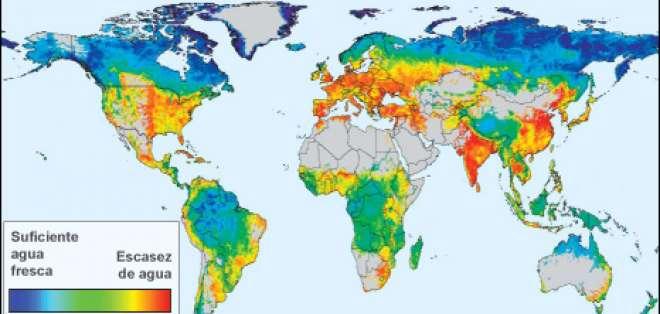 El mapa global de los ríos en peligro