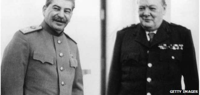 La noche en que Churchill y Stalin se fueron de fiesta