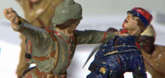 Una exposición en Londres alberga juguetes de las dos guerras mundiales