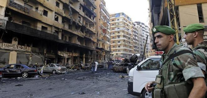 La jefa de la diplomacia europea condenó hoy el atentado registrado en Beirut.