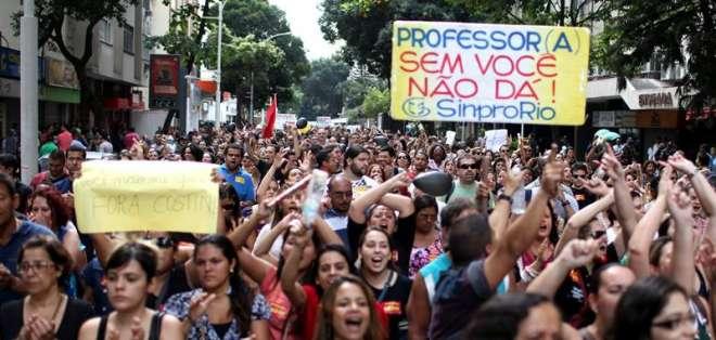 La FIFA confía en el éxito del Mundial de Brasil, aún si hubiera protestas. Fuente EFE