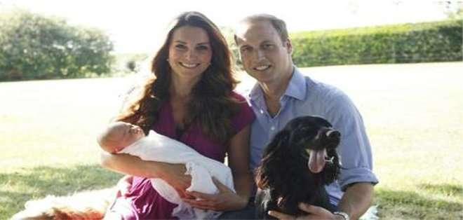 Las fotografías fueron tomadas por el padre de Kate, Michael Middleton.