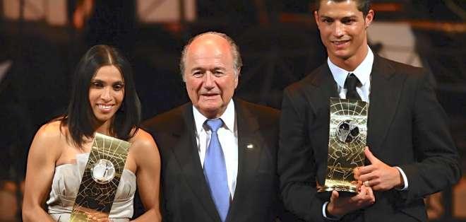 El Madrid pide a la FIFA que Blatter rectifique con Cristiano