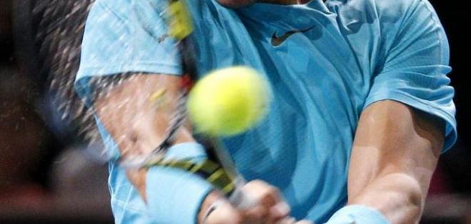 PARIS, Francia.- Nadal alcanza las semifinales de Bercy tras aplastar a Gasquet. Foto EFE