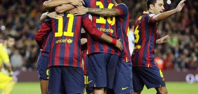 Un doble 'caño' de Neymar para dar la victoria al Barça