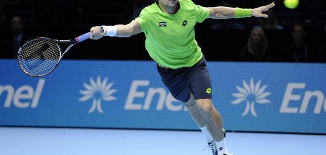 LONDRES.- Ferrer se va de Londres con tres derrotas tras caer ante Wawrinka. Foto: EFE