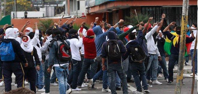 ECUADOR, Quito. Los jueces ratificaron la sentencia señalando que los doce actuaron de forma tumultuosa. Foto: Archivo