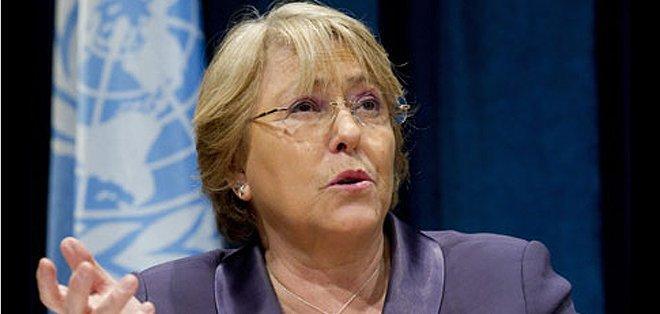 CHILE. En la primera vuelta, el pasado 17 de noviembre, Bachelet obtuvo el 46,67 % de la votación, frente a un 25,01 % de Matthei. Foto: Internet