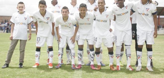 QUITO, Ecuador.- Novedades para el 2014 en Liga de Quito. Foto API