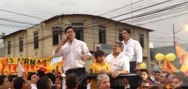 Carlos Falquez Aguilar es nuevo candidato por PSC a la Alcaldía de Machala. Foto: Tomada de Twitter