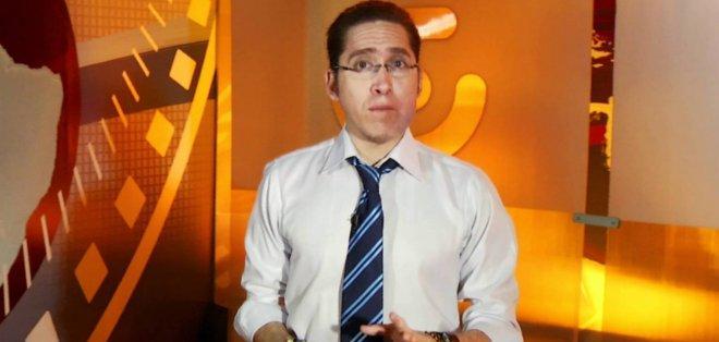 GUAYAQUIL, Ecuador.- Hermes Campoverde tiene una amplia trayectoria periodística en canales de televisión. Foto: Internet