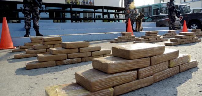 En el año, la Fuerza Naval del Pacífico ha incautado más de 53 toneladas de cocaína. Foto: Archivo