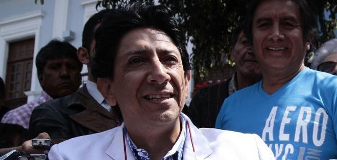 """QUITO, Ecuador.- Para Xavier Bonilla, es """"muy difícil"""" rectificar una caricatura. Fotos: API"""