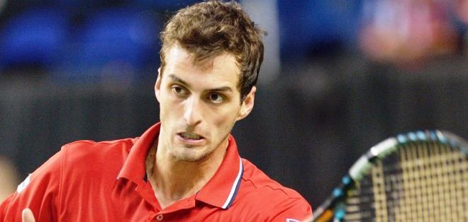 El tenista español Albert Ramos, en un pasado encuentro (Foto: Internet)