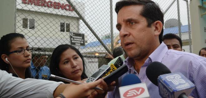 Rolando Panchana, Gobernador del Guayas. Foto: API