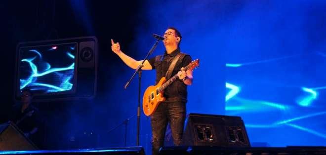 El concierto fue transmitido para todo el Ecuador por la señal de Ecuavisa.