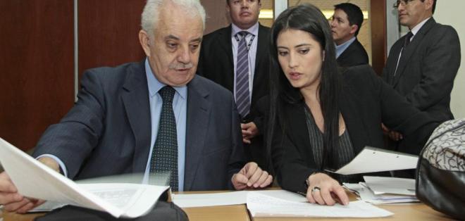 QUITO, Ecuador.- El fiscal Galo Chiriboga durante la audiencia en el caso Cofiec. Fotos: API