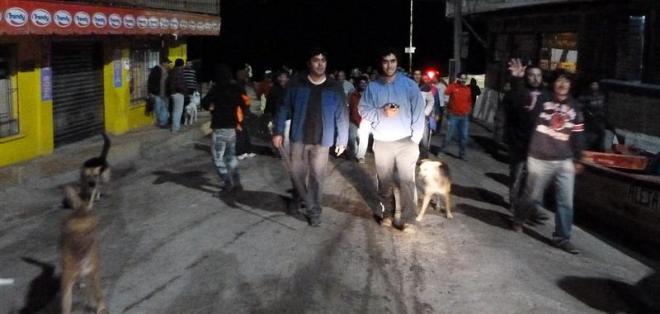 Alcalde de Arica dice que sismo sólo dejó heridos leves y derrumbes menores. Foto: EFE
