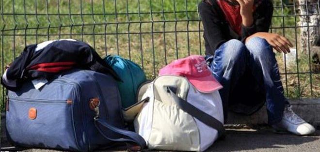 Ellos intentan reecontrarse con sus padres y familiares que también migraron al 'sueño americano'.