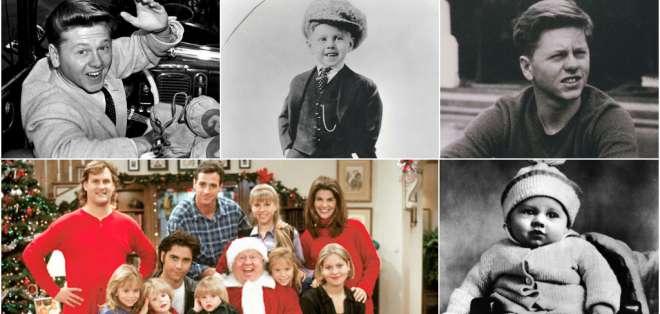 Falleció Mickey Rooney, el niño prodigio de Hollywood, a los 93 años