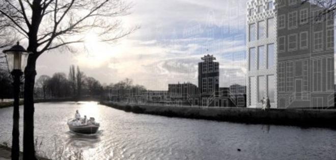ALEMANIA.- La casa tendrá 13 habitaciones compuesta por módulos independientes, que después se ensamblan entre sí. Foto: Internet