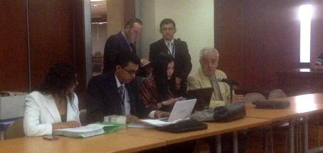 QUITO, Ecuador.- El Tribunal de lo Penal de la Corte Nacional de Justicia (CNJ) ratificó la prisión preventiva contra dos procesados en el caso Cofiec. Foto: Fiscalía del Ecuador