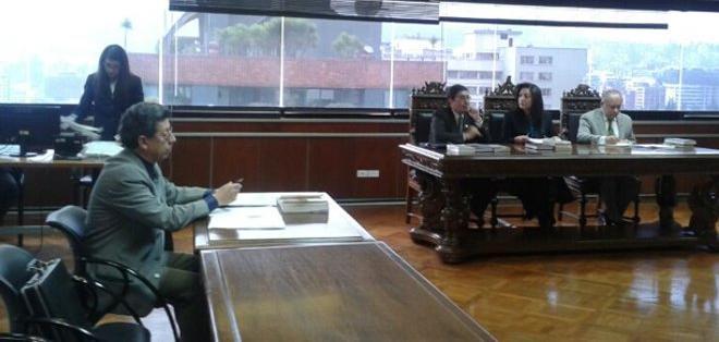 QUITO, Ecuador.- La Sala Penal de la Corte Nacional ratificó sentencia por delito de rebelión, en el caso 30-S. Foto: Fiscalía del Ecuador.