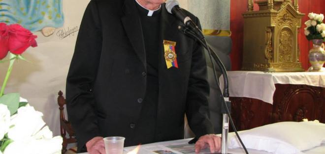 El sacerdote Juan Halligan fundó hace 50 años el Centro del Muchacho Trabajador.