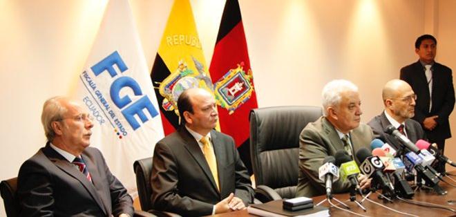QUITO, Ecuador.- La Fiscalía General del Estado investiga 58 casos a nivel nacional relacionados con el 30-S. Foto: Fiscalía del Ecuador