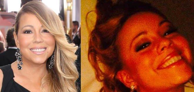 Mariah intentó engañar a sus fans subiendo como actual una fotografía tomada en 1997.
