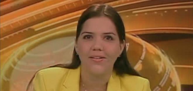 GUAYAQUIL, Ecuador.- María Alejandra Vicuña durante su entrevista en Contacto Directo. Foto: Ecuavisa
