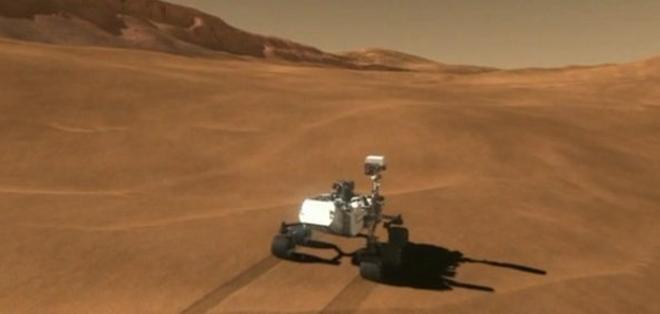 El robot comprobó que en Marte hubo, alguna vez, condiciones ambientales para la vida.